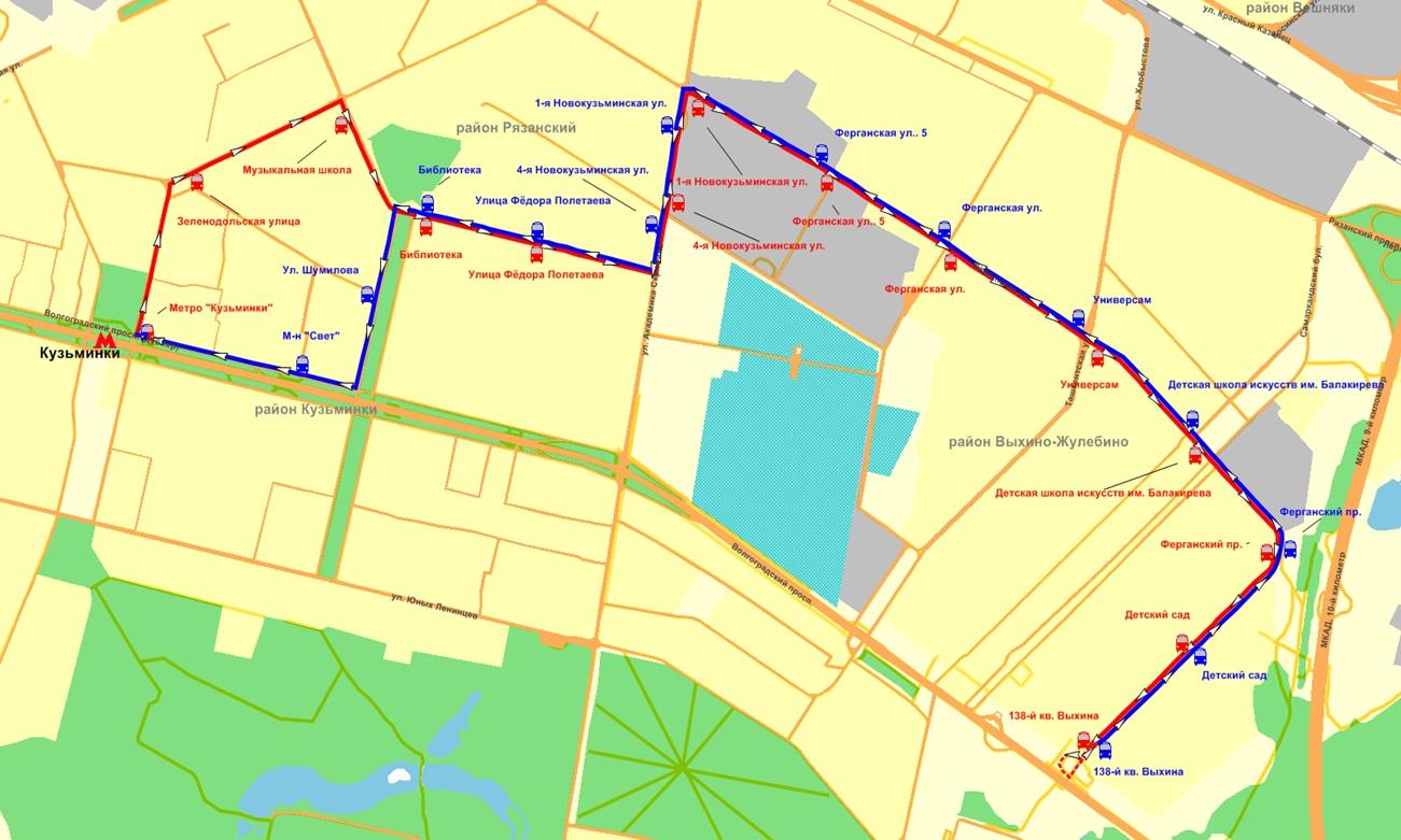 схема метро по маршруту автобус калуга москва