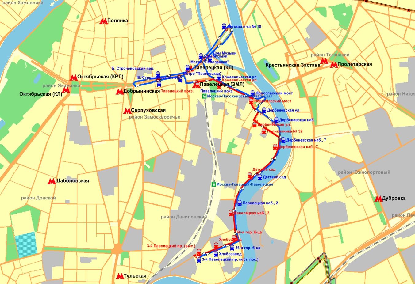 схема маршрутного такси номер 2 города ульяновска