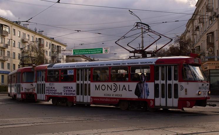Векатеринбургских трамваях появится Wi-Fi