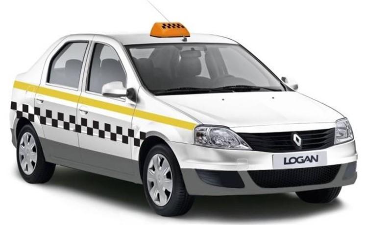 Легковые такси вПодмосковье покрасят одним цветом