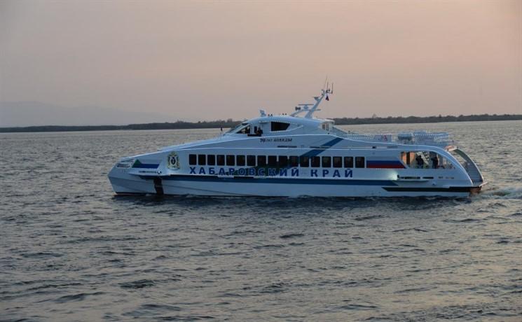 Новое пассажирское судно «70 лет Победы» суспехом прошло испытания наАмуре