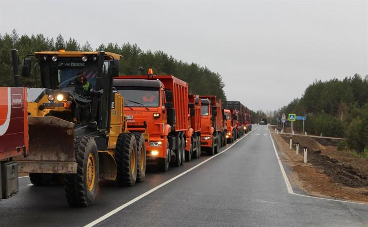 ИзПоморья вКоми: сейчас по равномерной дороге