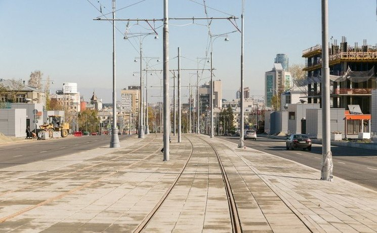 Уже завтра поулице Татищева пойдут трамваи 2-го и18-го маршрутов
