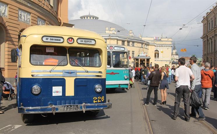 Вчесть праздника троллейбуса в северной столице пройдёт ретро-парад