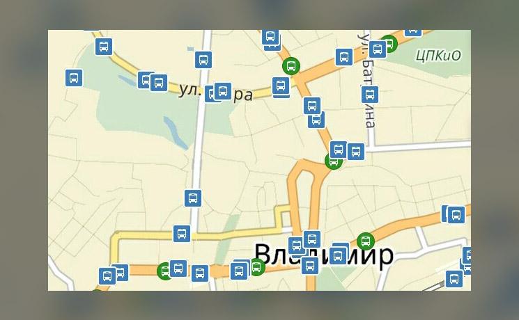 Яндекс транспорт владимир для андроид