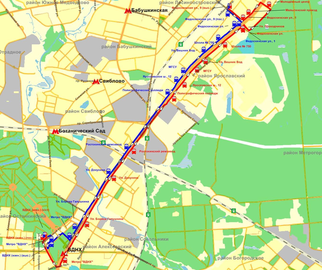 схема проезда с павелецкого вокзала в тушино на метро