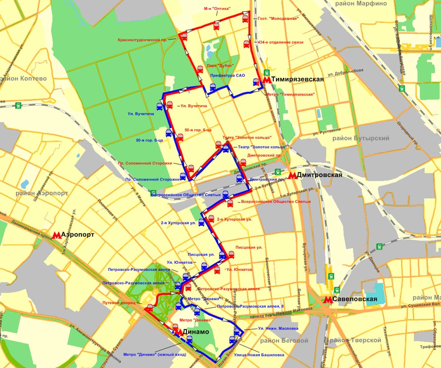 схема маршрута 13 пенза