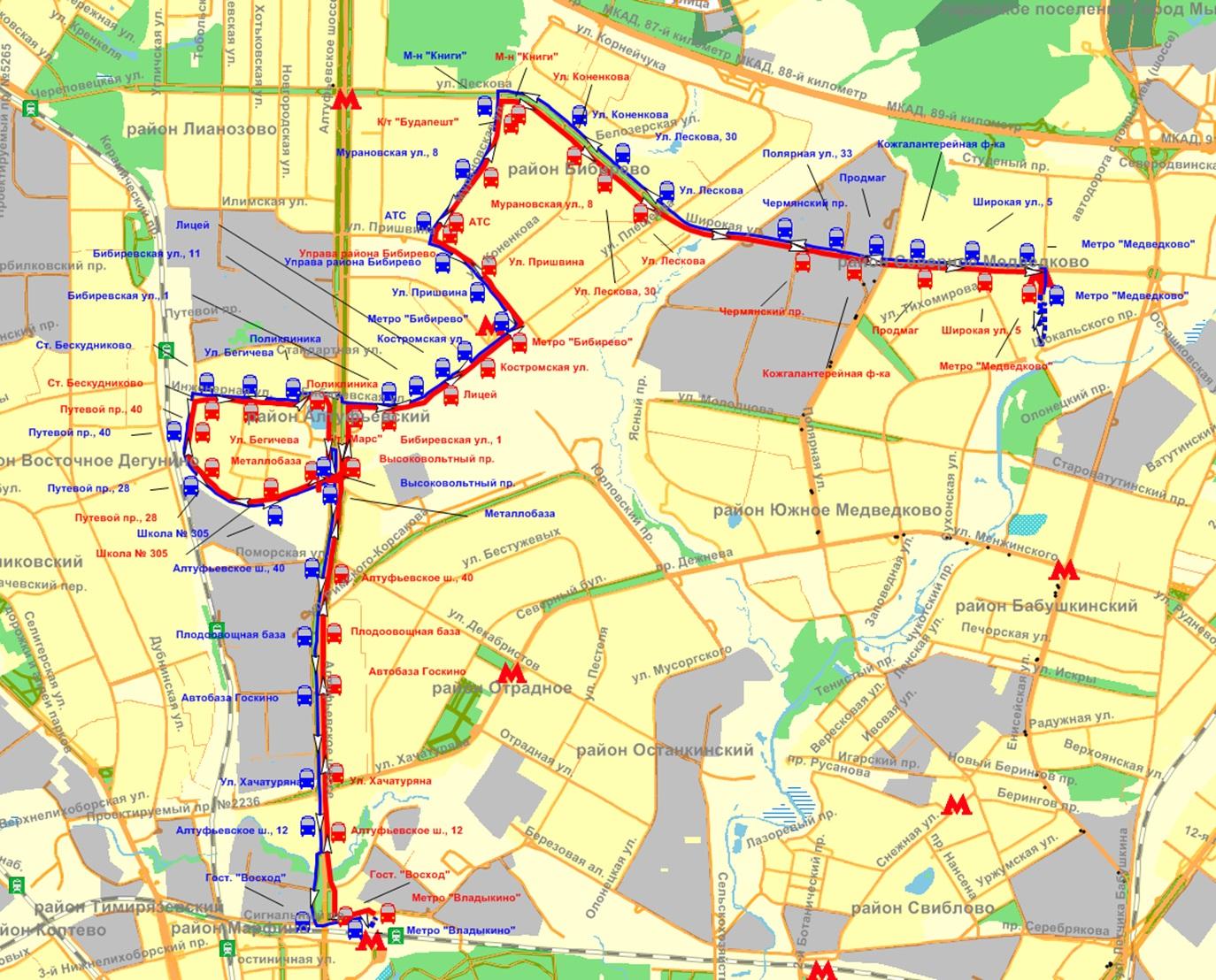гуп мосгортранс схема маршрутов
