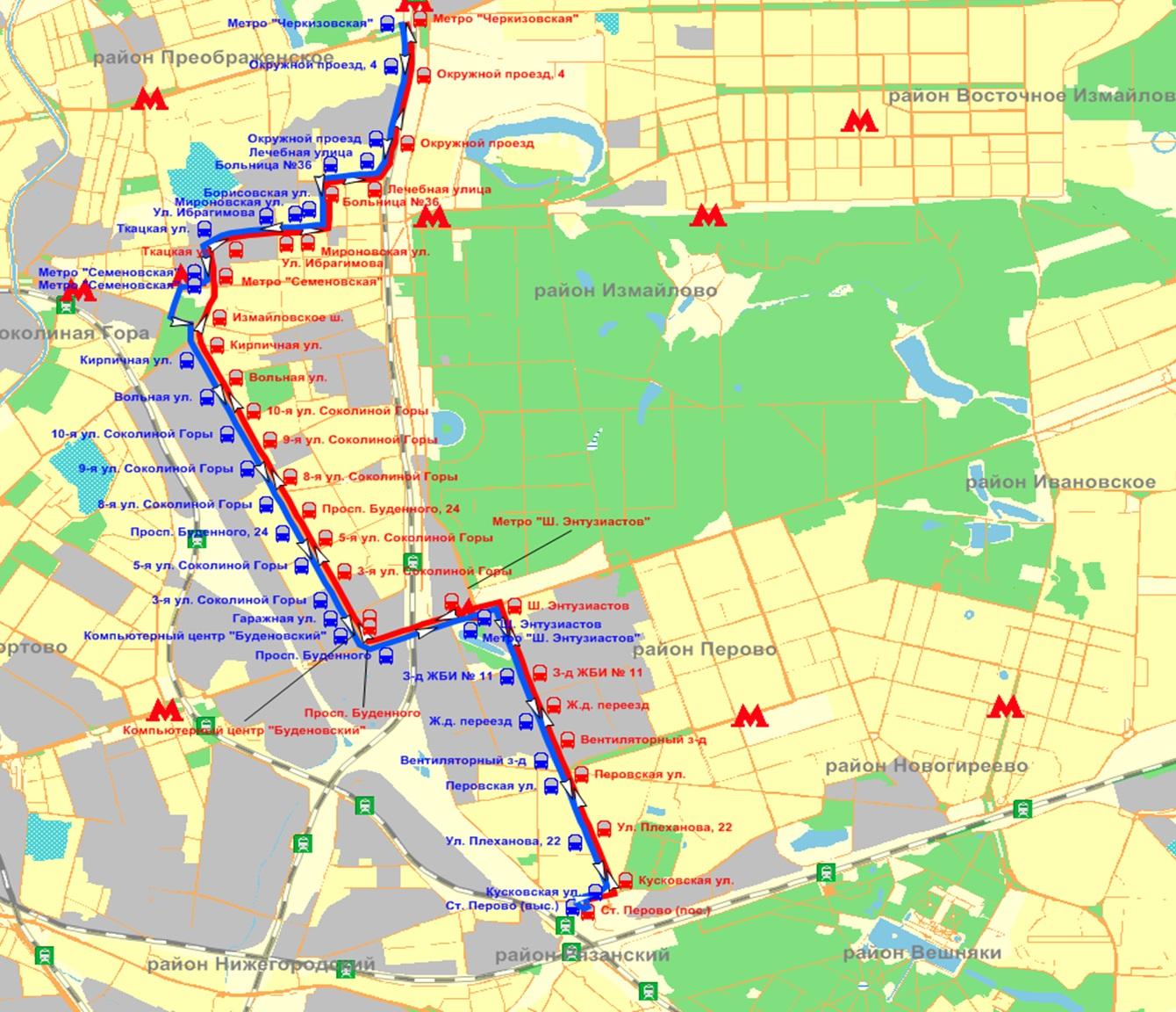 Схема маршрутки 429