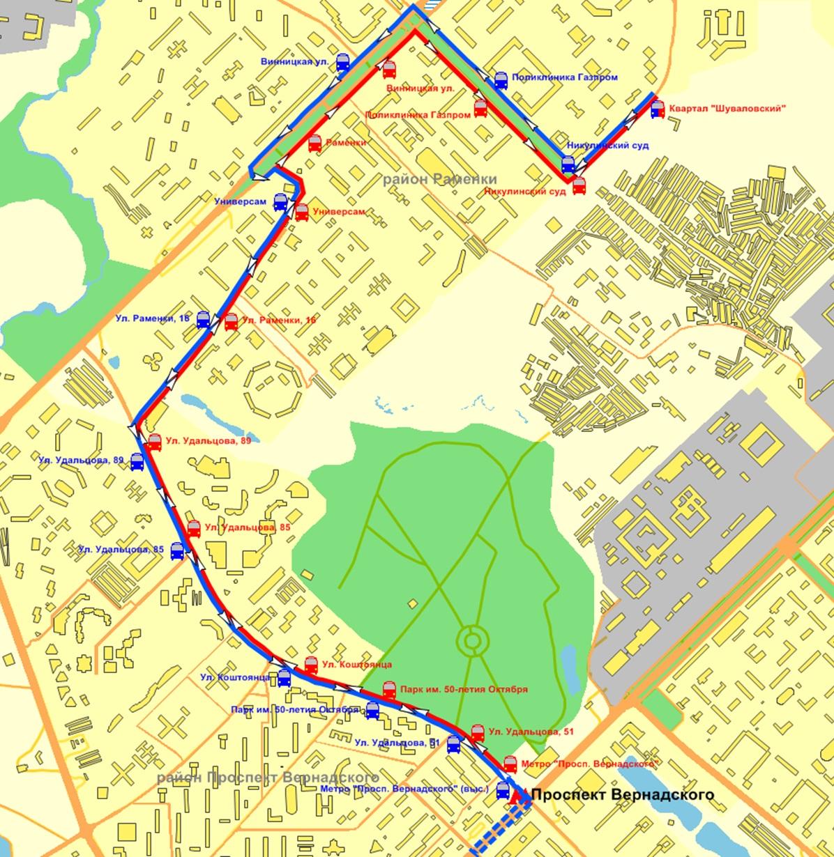 транспортная схема социально-значимых маршрутов