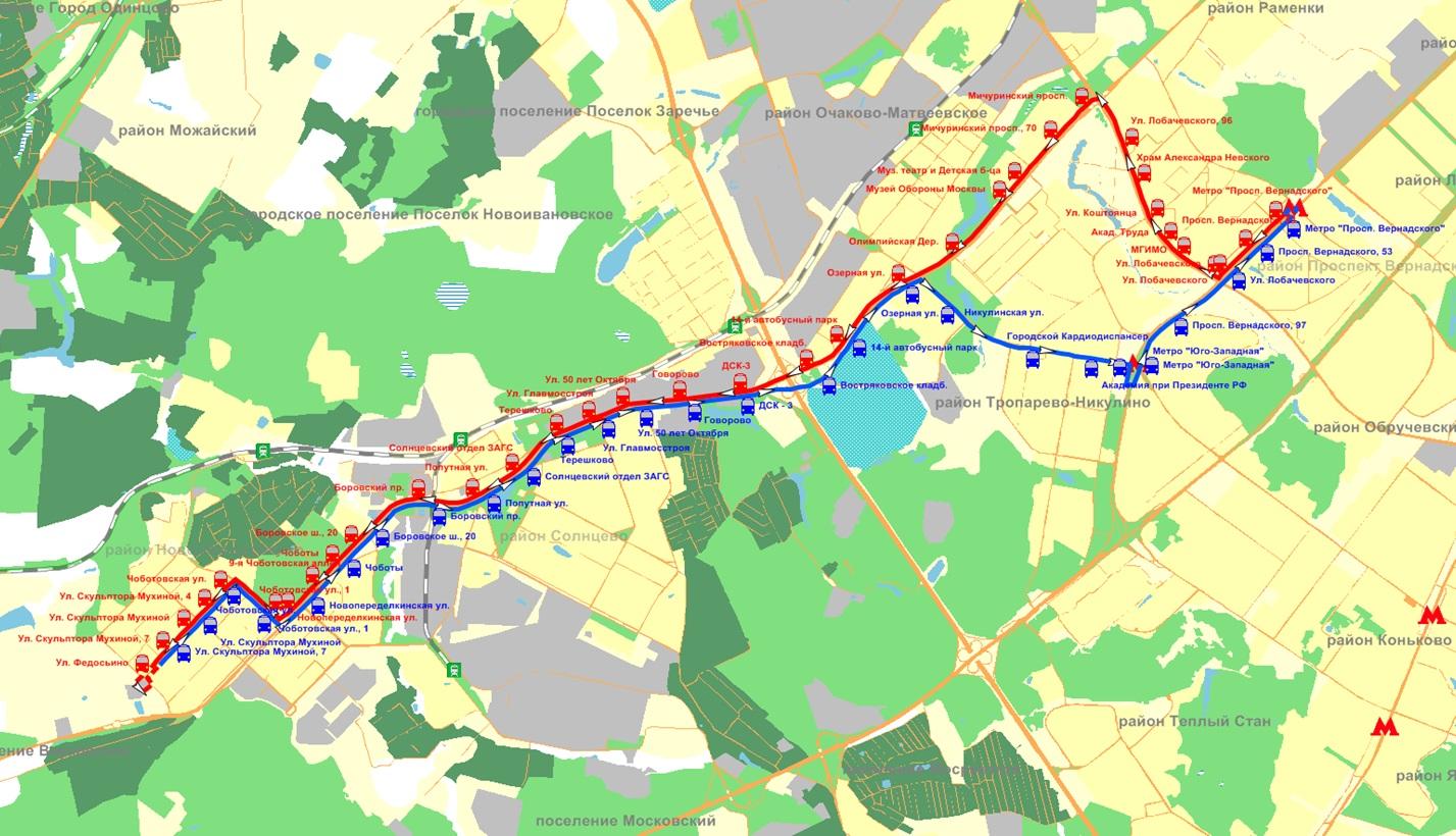 схема движения маршрута автобуса 15ц владивосток