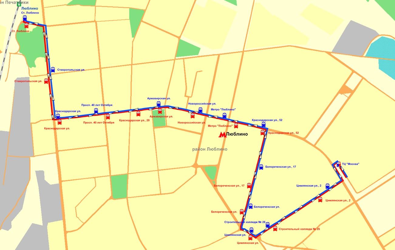 Схема автовокзала на красногвардейской