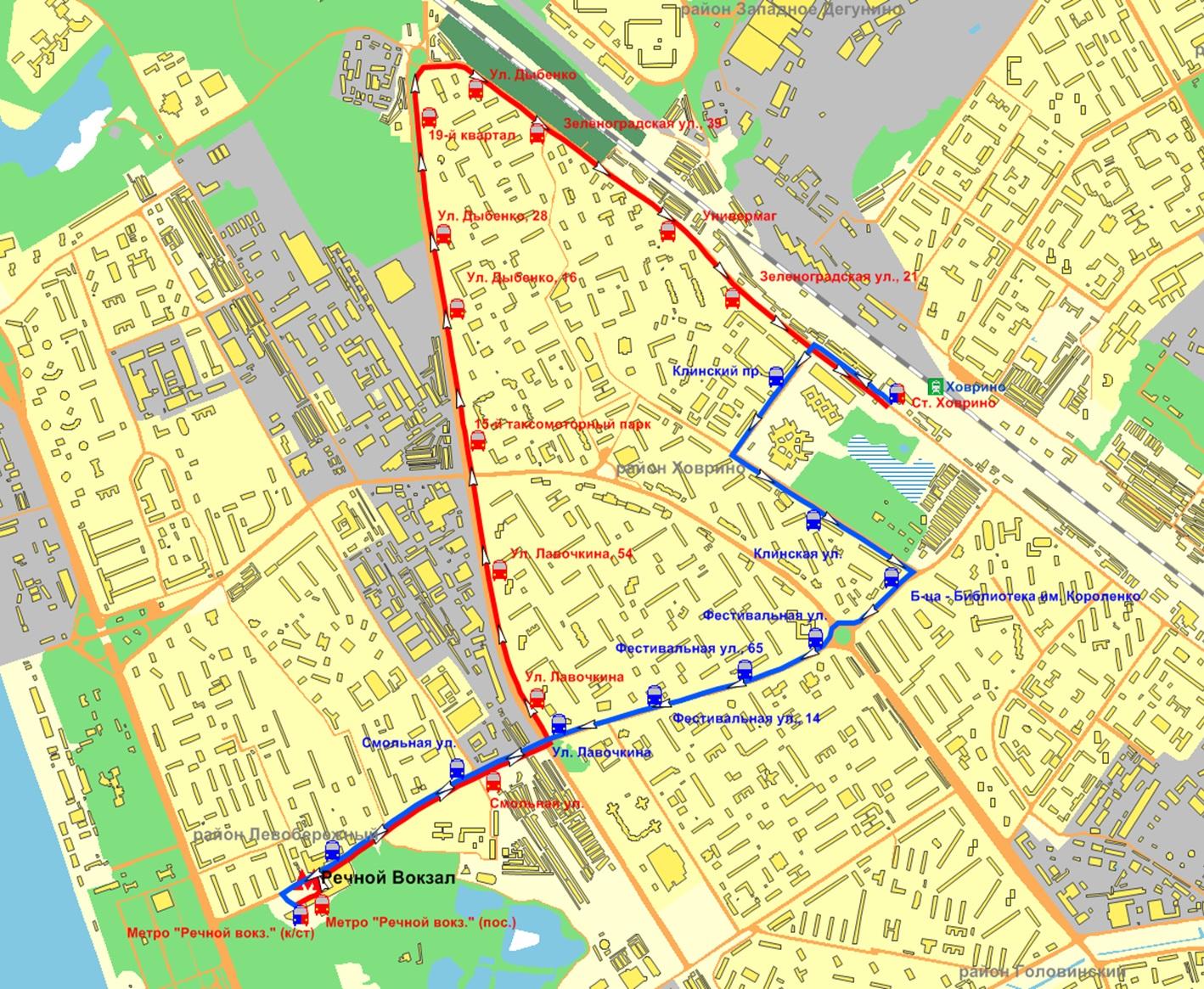 Карта метро Москвы со станциями МЦК и МЦД 2020