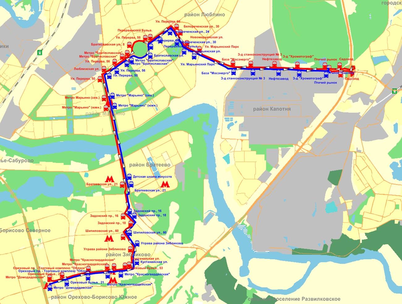 белгород схема маршрута 18 автобуса